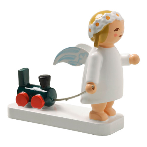 Wendt Kuhn Angel Figurine Train