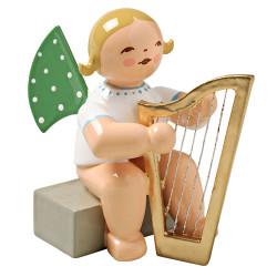 Wendt Kuhn Blonde Angel Harp Figurine FGW650X14A