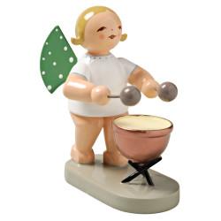 Wendt Kuhn Angel Kettledrum Figurine FGW650X22