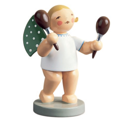 Wendt Kuhn Blonde Angel Maraca Figurine FGW650X65