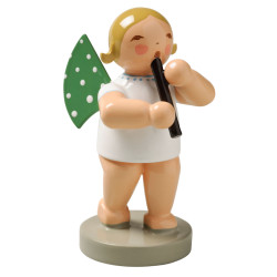 Wendt Kuhn Blonde Angel Recorder Figurine FGW650X42