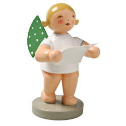 Wendt Kuhn Blonde Angel Sheet Music Figurine FGW650X12