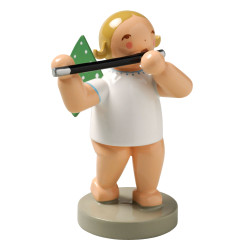 Wendt Kuhn Blonde Angel Traverse Flute Figurine FGW650X18