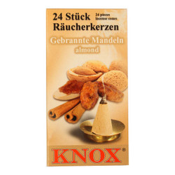 Knox Almond German Incense 24 per Box IND146X06XALMOND