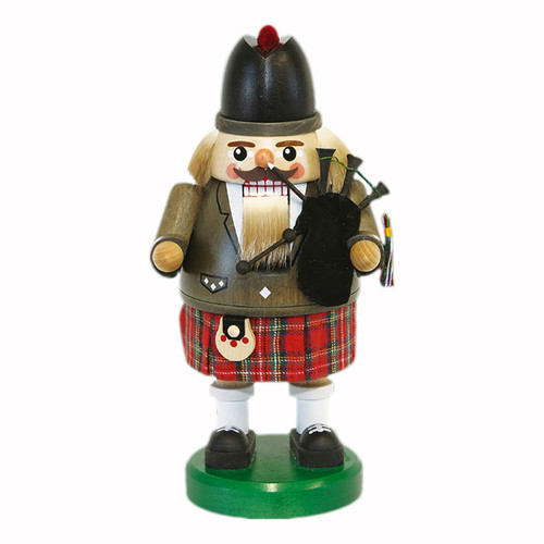 Bagpiper German Nutcracker Kilt