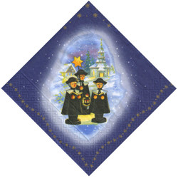 Carolers Kurrende German Napkins