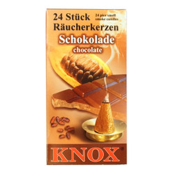 Knox Chocolate German Incense 24 per Box IND146X06XCHOC