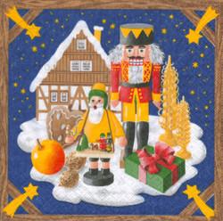 Christmas Land German Napkins NPD042X065