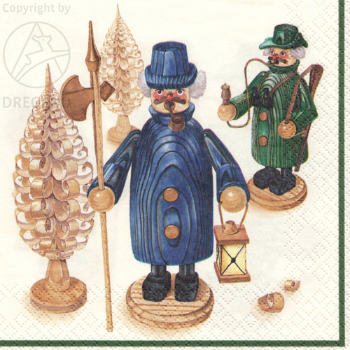 Erzgebirge German Smoker Napkins