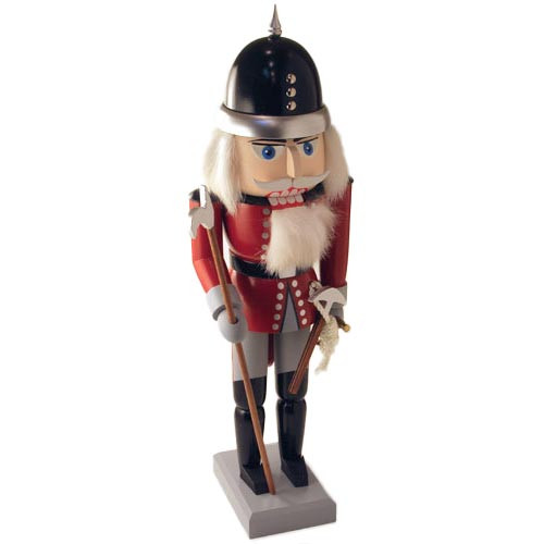 Fireman German Nutcracker