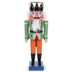 German King Nutcracker Autumn Attire