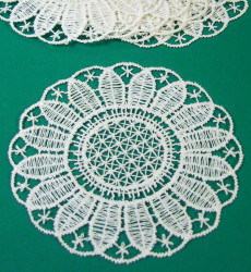 German Lace Coaster Set Small