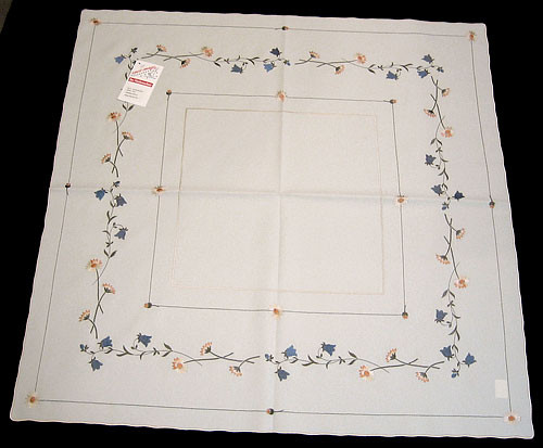 German Meadow Flower Table Topper