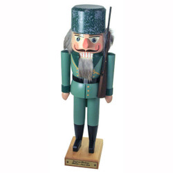 German Wooden Nutcracker Forester 1870