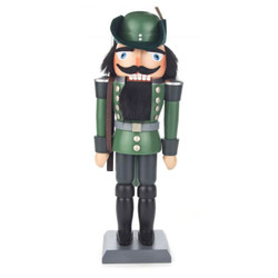 Green Forest Wood German Nutcracker