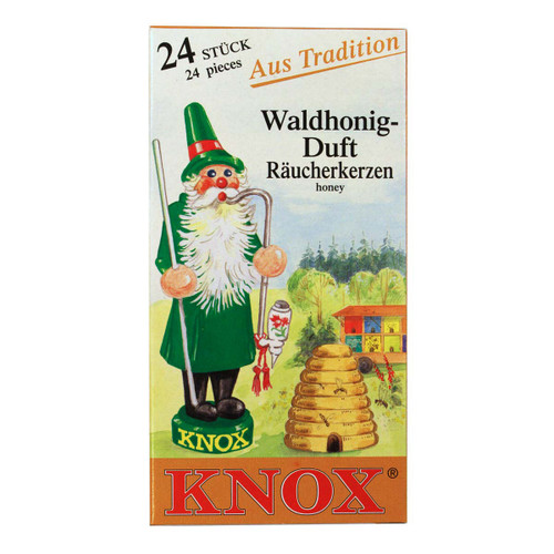 Knox Honey German Incense 24 per Box IND146X06XHONEY