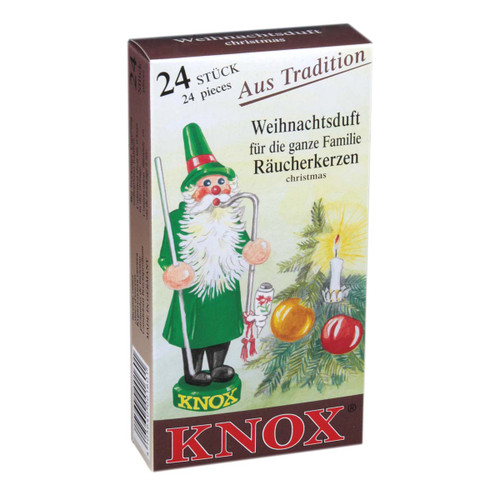 Knox Christmas German Incense IND146X06XCHRISTMAS