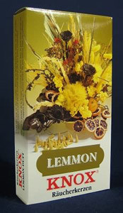 Lemon Incense 24 per Box