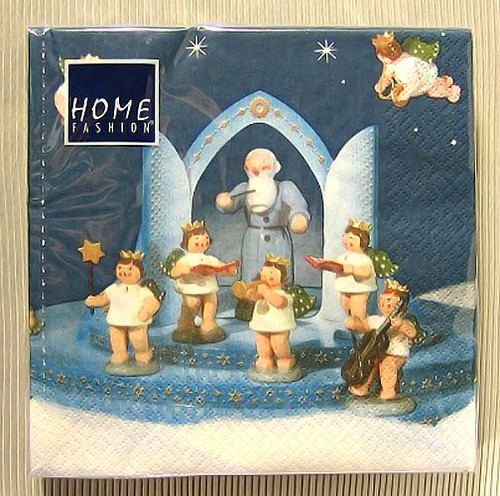 Musical Angels German Napkins