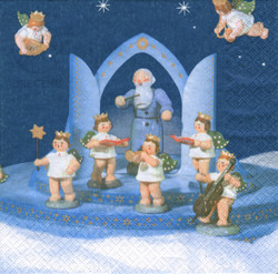 Musical Angels German Napkins NPD042X201