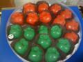 Rosh Hashanah Apple Chocolate Trays
