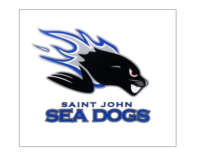 Window Decal - Saint John Sea Dogs