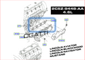 BRAND NEW OEM GASKET INTAKE MANIFOLD 4.6L V8 32V DOHC EFI | 2C5Z-9448-AA