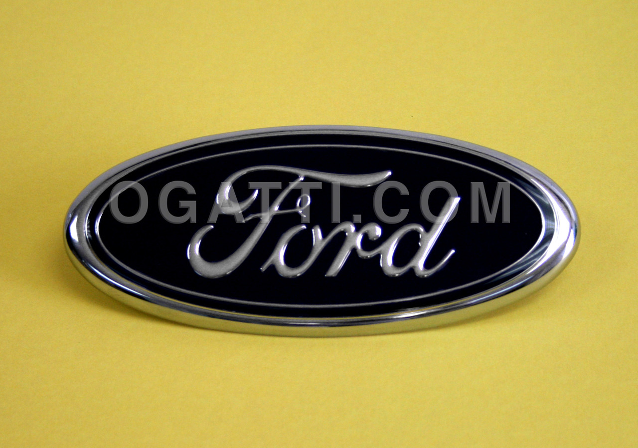Edge Source  C B Ab Front Grille  Ford Oval Emblem