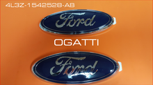BRAND NEW OEM FORD OVAL 3D EMBLEM FITS REAR TAILGATE AND FRONT GRILLE COMBO F-150 2004-2008