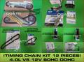 TIMING CHAIN KIT-12 PIECES BRAND NEW FORD OEM RANGER 4.0L V6 SOHC 1998-05