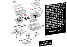 BRAND NEW OEM GASKET KIT UPPER AND LOWER 4.6L AVIATOR