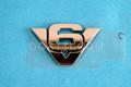 7L8Z-7842528-A | V6 FENDER ESCAPE  3.0L 4V OHC EMBLEM
