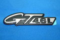 F6ZZ-16228-AA | Ford Mustang GT 4.6L Fender Emblem Badge OEM