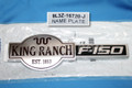 BRAND NEW OEM RH FRONT FENDER EMBLEM F150 KING RANCH 9L3Z-16720-J