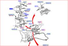 BEZEL ASY., TRANSMISSION SHIFT INDICATOR, E, 8 CYL, 4.6 L F4ZZ*7D443*AGX