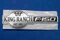 9L3Z-9942528-D   KING RANCH F-150 EMBLEM