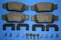 BRAND NEW OEM FRONT BRAKE PADS XW4Z-2001-BA | Pads Lincoln LS 1999/2005 6W4Z-BA D-805 7676 BR-1273