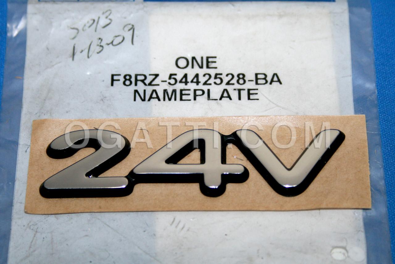 Genuine Ford 5G1Z-5442528-A Nameplate
