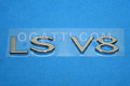 3W4Z-5442528-CA | LS V8 LUGGAGE EMBLEM  2002-2006