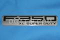 F-350 LARIAT SUPER DUTY FENDER EMBLEM COMBO SET [2 PIECES] 2005-2007