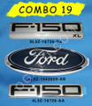 F-150 XL 5.4 TRITON EMBLEM COMBO SET 3 PIECES 2004-2008