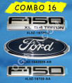 F-150 XL 5.4 TRITON EMBLEM COMBO SET 3 PIECES FOR F-150 2004-2008