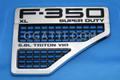 FORD VENT RIGHT Side F350 XL SUPER DUTY 6.8L TRITON V10  FENDER  2008-2010 #8C3Z-16228-C |8C3Z-16720-F