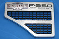 """FORD VENT AND F350 LARIAT KING RANCH SUPER DUTY 6.4L DIESEL V8 POWER STOKE FENDER """"LH side only"""" 2008-2010  #8C3Z-16228-F and 8C3Z-16720-K"""
