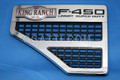 """FORD VENT AND F450 LARIAT KING RANCH SUPER DUTY FENDER """"LH side only"""" 2008-2010  #8C3Z-16228-F and 8C3Z-16720-S"""