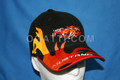 HAT MUSTANG FLAMING CAP BLACK PONY 1901-2013  #153020