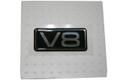 V8 EMBLEM V8  EMBLEM FOR TAURUS 1997-1999 #F7DZ-16098-AA