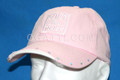 HAT BUILT TOUGH FORD LADIES STUDDED CAP COLOR PINK COTTON TWILL #300606