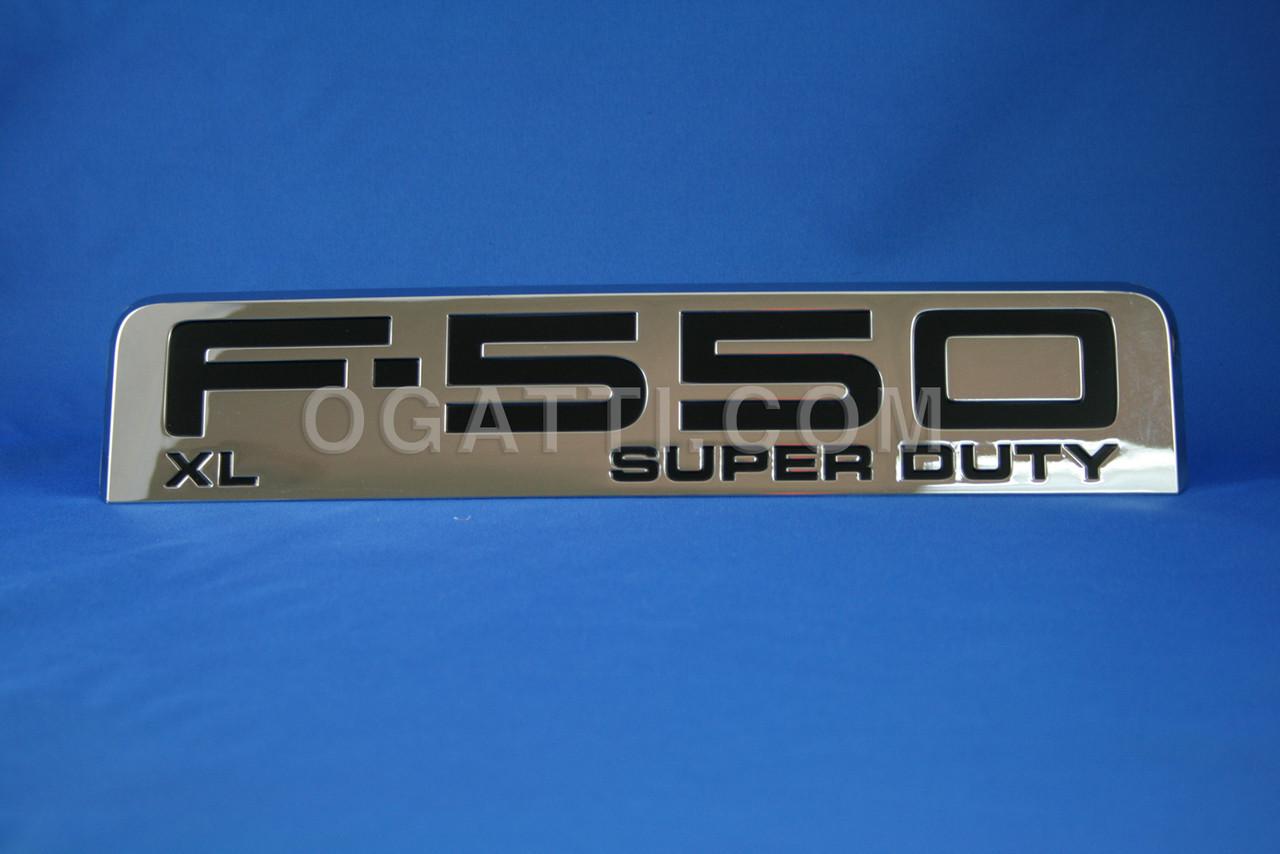 F550 XL SUPERDUTY EMBLEM BRAND NEW OEM FORD  F-550 XL EMBLEM  #5C3Z-16720-RA