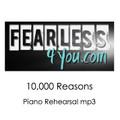 10,000 Reasons Piano Rehearsal Track MP3